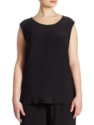 Caroline Rose Jersey Tank Top Black