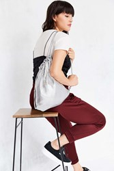 Urban Outfitters Carrie Chainmail Backpack Silver
