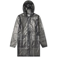 Rains Hooded Coat Grey