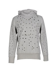 Malph Topwear Sweatshirts Men Light Grey