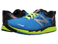 New Balance 1500V3 Electric Blue Lime Glo Black Men's Running Shoes