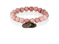 Miracle Icons Men's Beaded Bracelet Pink
