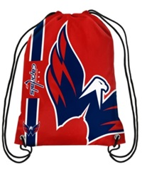 Forever Collectibles Washington Capitals Big Logo Drawstring Bag Red