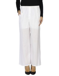 Carlo Contrada Casual Pants White