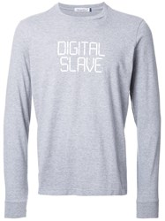 Undercover 'Digital Slave' Print T Shirt Grey