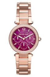 Michael Michael Kors 'Parker Mini' Multifunction Bracelet Watch 33Mm