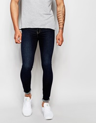 Dr. Denim Dr Denim Jeans Dixy Low Waist Extreme Skinny Fit Dark Blue Wash Darkbluewash