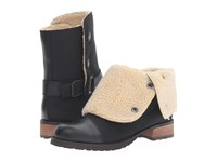Matt Bernson Tundra Black White Shearling Women's Boots