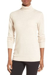 Nordstrom Women's Collection Long Cashmere Turtleneck Sweater