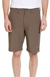 Billabong Crossfire X Submersible Twill Shorts Dark Brown