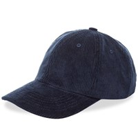 Norse Projects Wide Wale Cord Cap Blue
