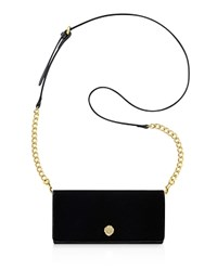 Anne Klein Wallet With Chain Strap Crossbody Black