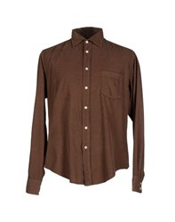 Hartford Shirts Shirts Men Cocoa