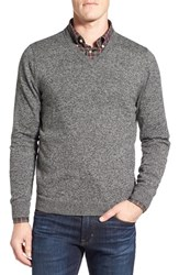 Nordstrom Men's Big And Tall Men's Shop Cotton And Cashmere V Neck Sweater