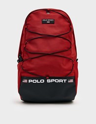 Polo Ralph Lauren Sport Backpack In Red