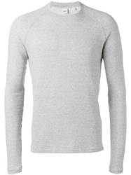 Aspesi Japanese Yarn Sweatshirt Men Cotton L Grey