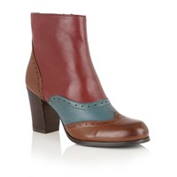 Lotus Halona Ankle Boots Tan