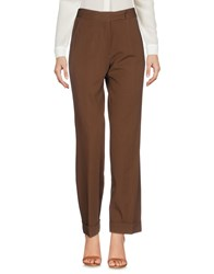 Paul Smith Casual Pants Brown