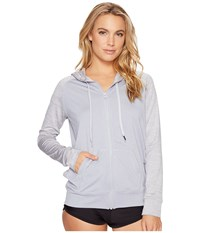 Rip Curl Search Zip Hoodie Grey Women's Swimwear Gray