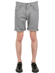 Globe Cotton Shorts Grey