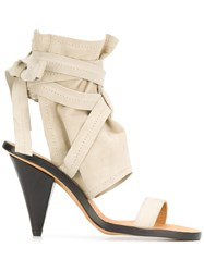 Iro Strappy Sandals Nude And Neutrals