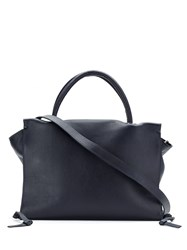 Mara Mac Leather Tote Black