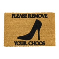 Artsy Doormats Please Remove Your Choos Door Mat