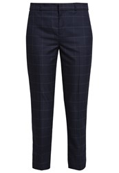 Banana Republic Avery Trousers Navy Dark Blue