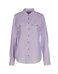 M.Grifoni Denim Shirts Shirts Women Maroon