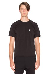 Undefeated Tech Raglan Short Sleeve Tee Black
