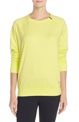 Women's Under Armour 'Cozy' Coldgear Crewneck Sweatshirt Flashlight