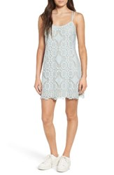 Fire Women's Strappy Lace Shift Dress