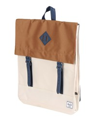 The Herschel Supply Co. Brand Bags Rucksacks And Bumbags Men Ivory