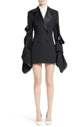 Y Project Women's Double Breasted Suit Jacket Dress