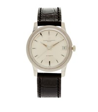 Hodinkee Vacheron Constantin White Gold 36Mm Dress Watch Unisex