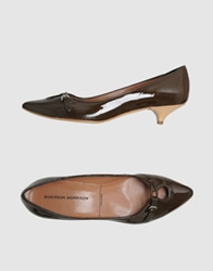 Sigerson Morrison Pumps Dark Brown