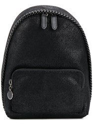 Stella Mccartney Small Zipped Backpack Black