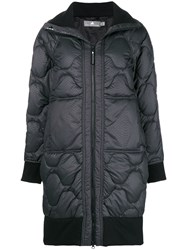 Adidas By Stella Mccartney Quilted Coat Black