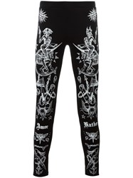 Givenchy Tattoo Print Leggings Black