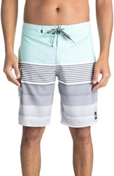 Quiksilver Division Board Shorts Eggshell Blue