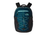 The North Face Women's Borealis Deep Teal Blue Agate Green Backpack Bags