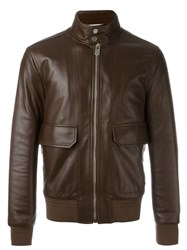 Bally Flap Pocket Jacket Brown
