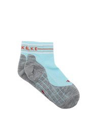 Falke Ru4 Dots Running Socks Light Blue
