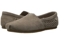 Skechers Luxe Bobs Boho Crown Taupe Women's Slip On Shoes