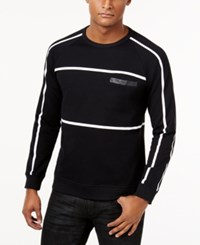 Inc International Concepts Men's Bound Sweatshirt Only At Macy's Deep Black