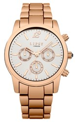 Lipsy Ladies Bracelet Watch Rose Gold