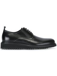 Ann Demeulemeester Slight Wedge Lace Up Shoes Black
