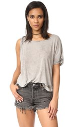 Free People Pluto Tee Grey