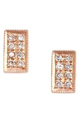 Dana Rebecca Women's Designs 'Katie' Diamond Stud Earrings