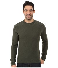 Royal Robbins Fireside Wool Crew Pullover Mangrove Green Men's Long Sleeve Pullover